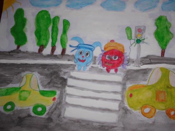 Выставка рисунков «Дорожные знаки»
