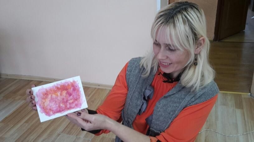 """Мастер-класс по современным техника рисования """"Картины солью"""""""